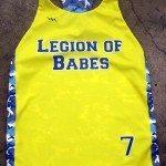 Womens Camouflage Lacrosse Jerseys