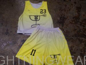yellow lacrosse uniforms