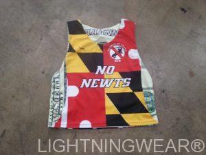 reversible Maryland flag jerseys