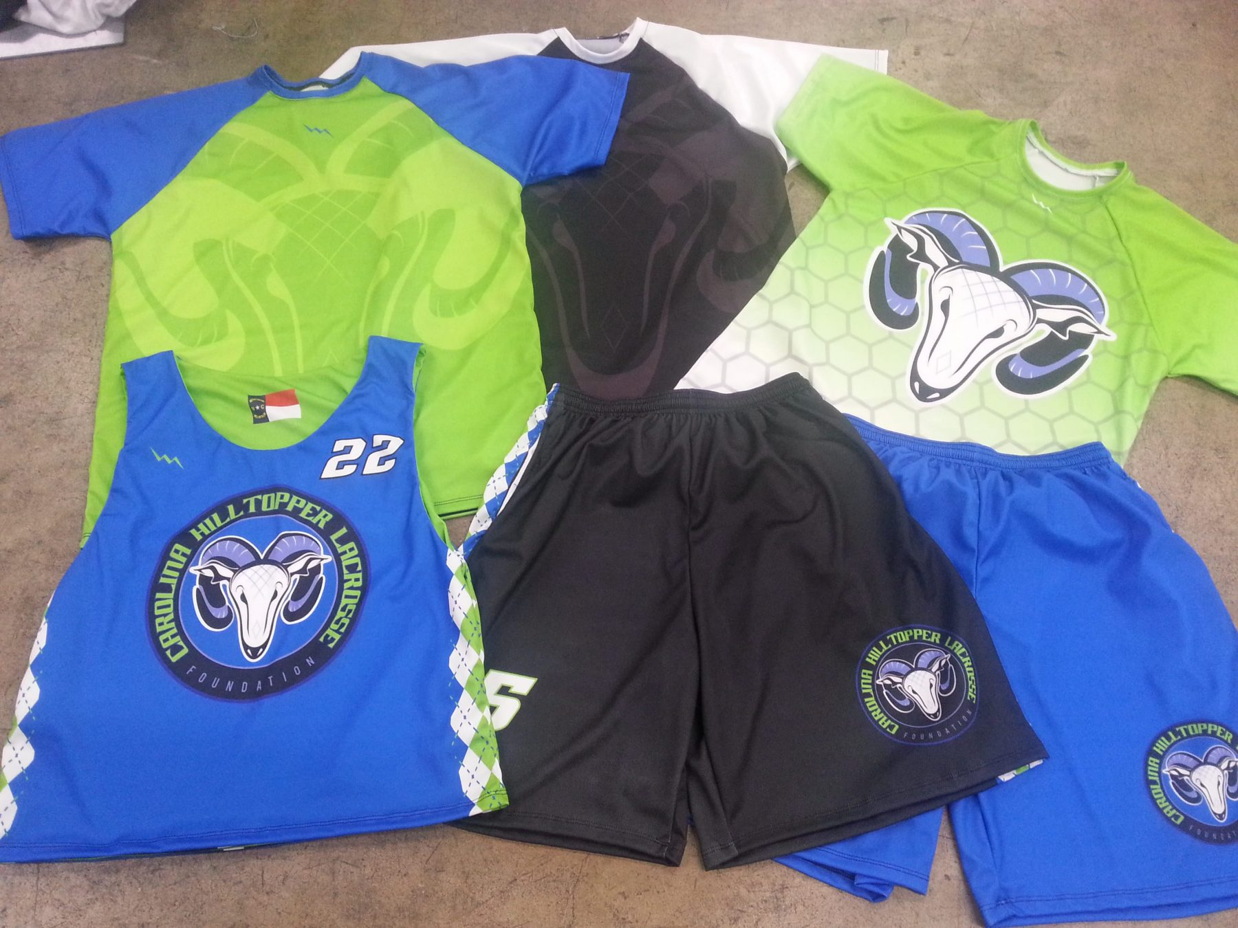uniforms lacrosse