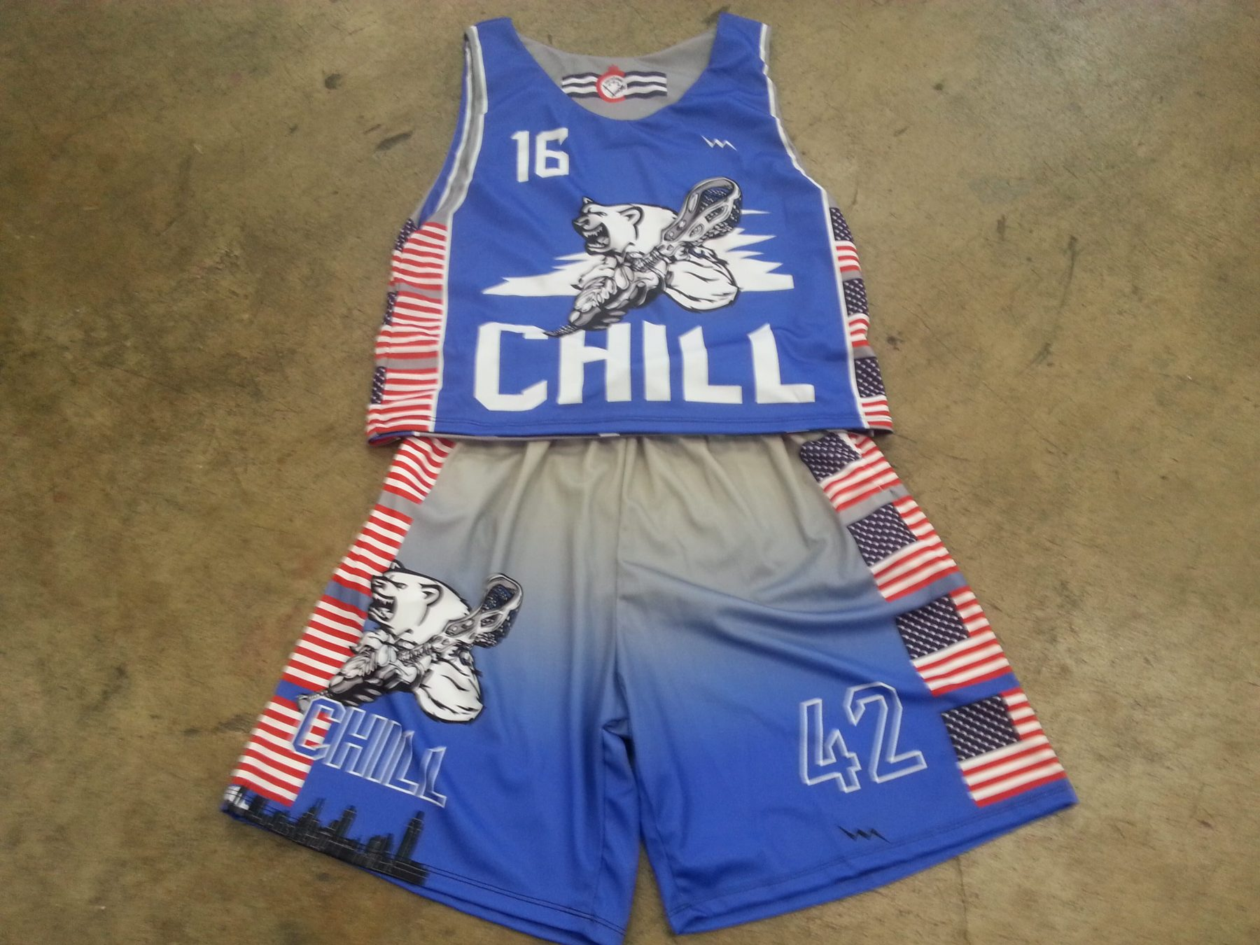 lacrosse uniforms in ohio
