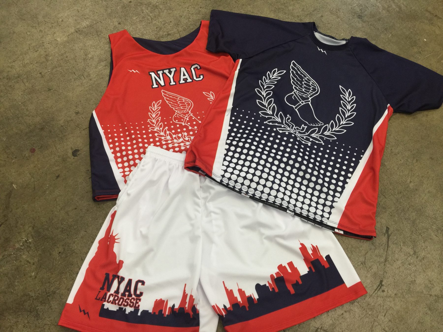 lacrosse uniforms in new york