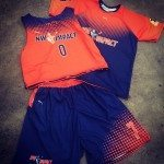 Orange Lacrosse Uniforms