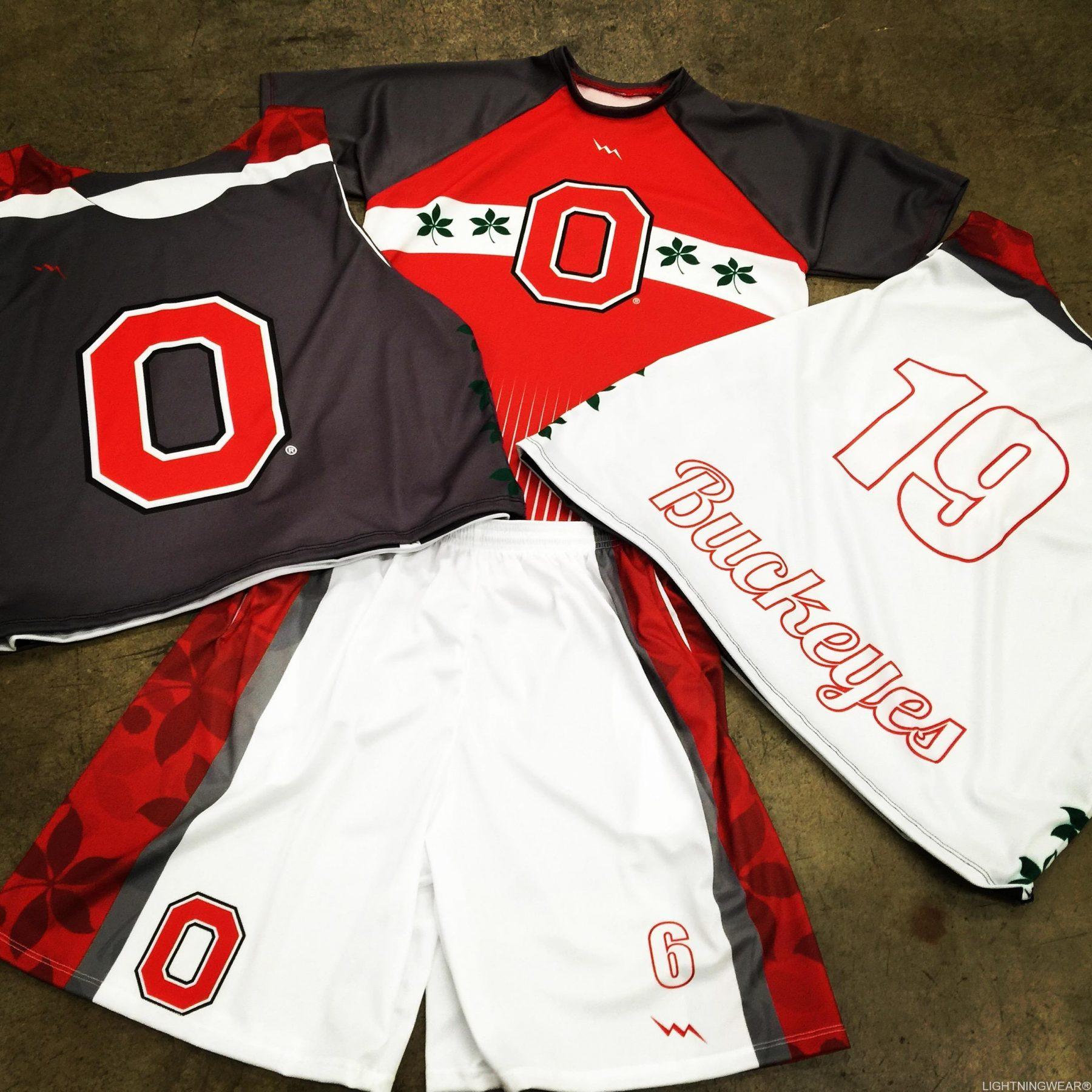 college club lacrosse team uniforms
