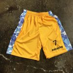 Athletic Gold Lacrosse Shorts