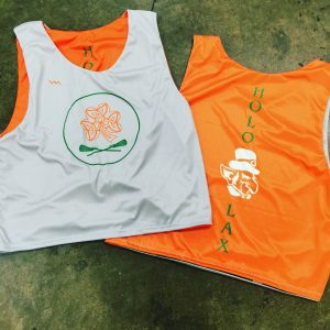 custom lacrosse pinnies sublimated