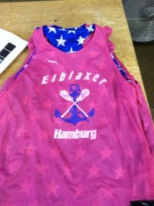 hamburg germany lacrosse pinnies
