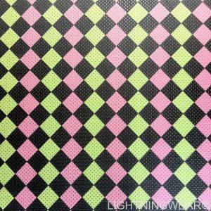 Checker Board Print Pinnies