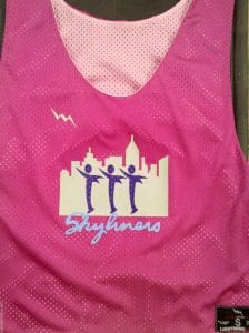 Skyliners Dance Pinnies
