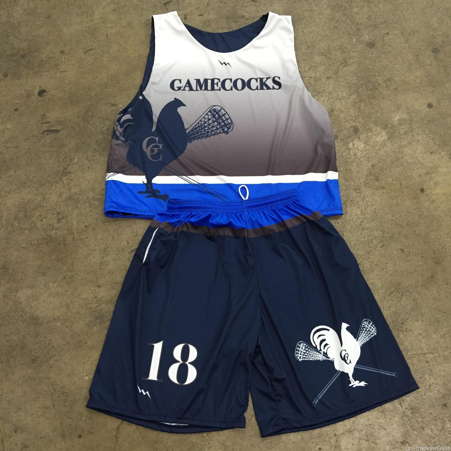 gamecocks lacrosse uniform