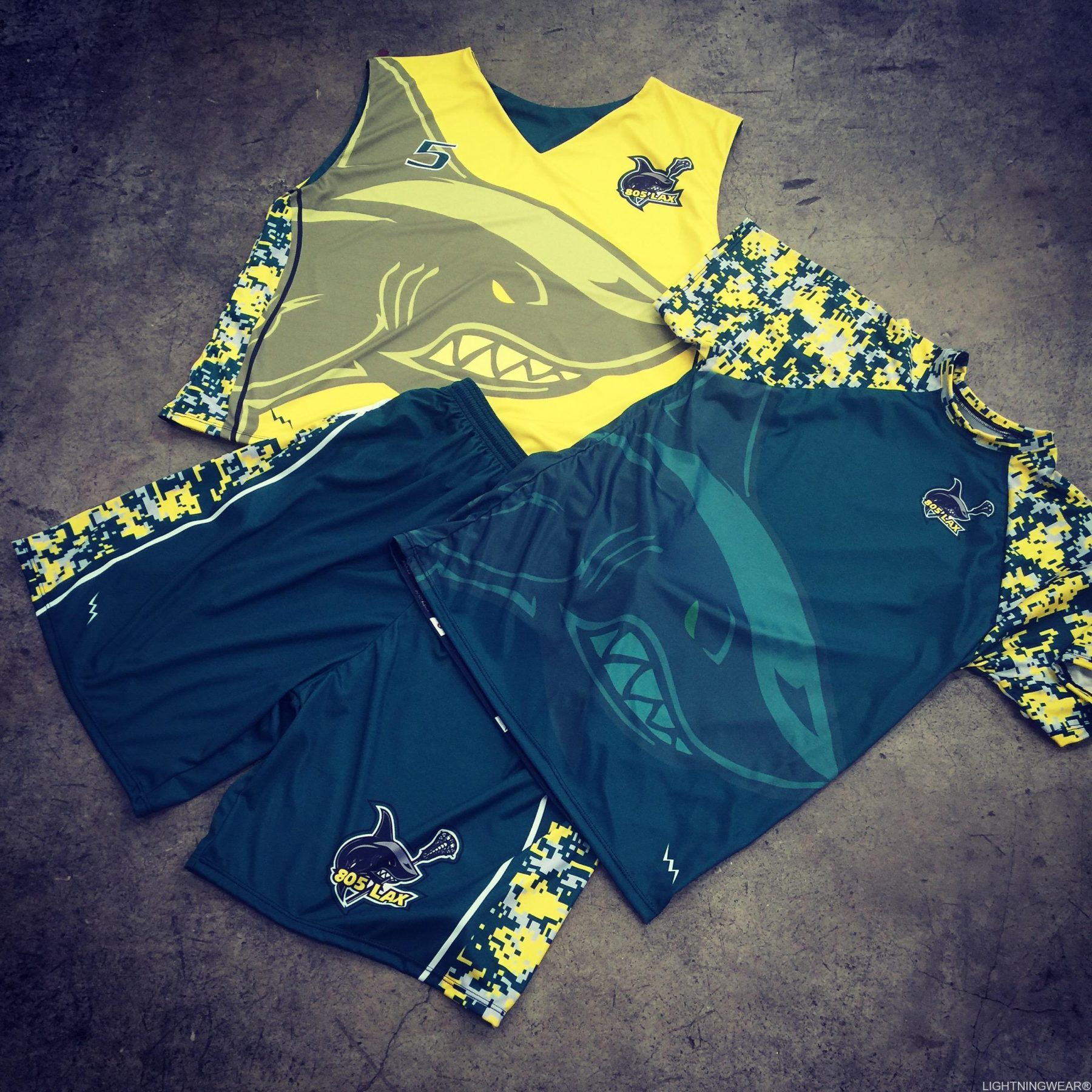 lacrosse uniforms sublimated