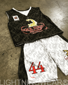 sublimated lacrosse shorts pinnies