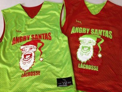 angry santa pinnies