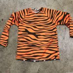 Long Sleeve Tiger Stripe Shirts