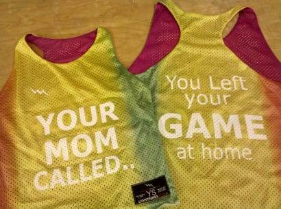 your mom called pinnies