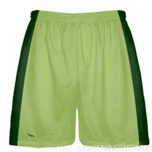 lime green lacrosse shorts