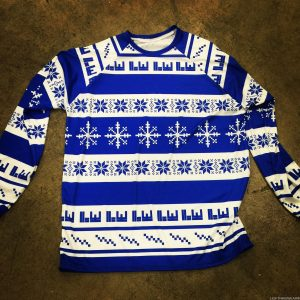 ugly christmas sweater lacrosse shirts
