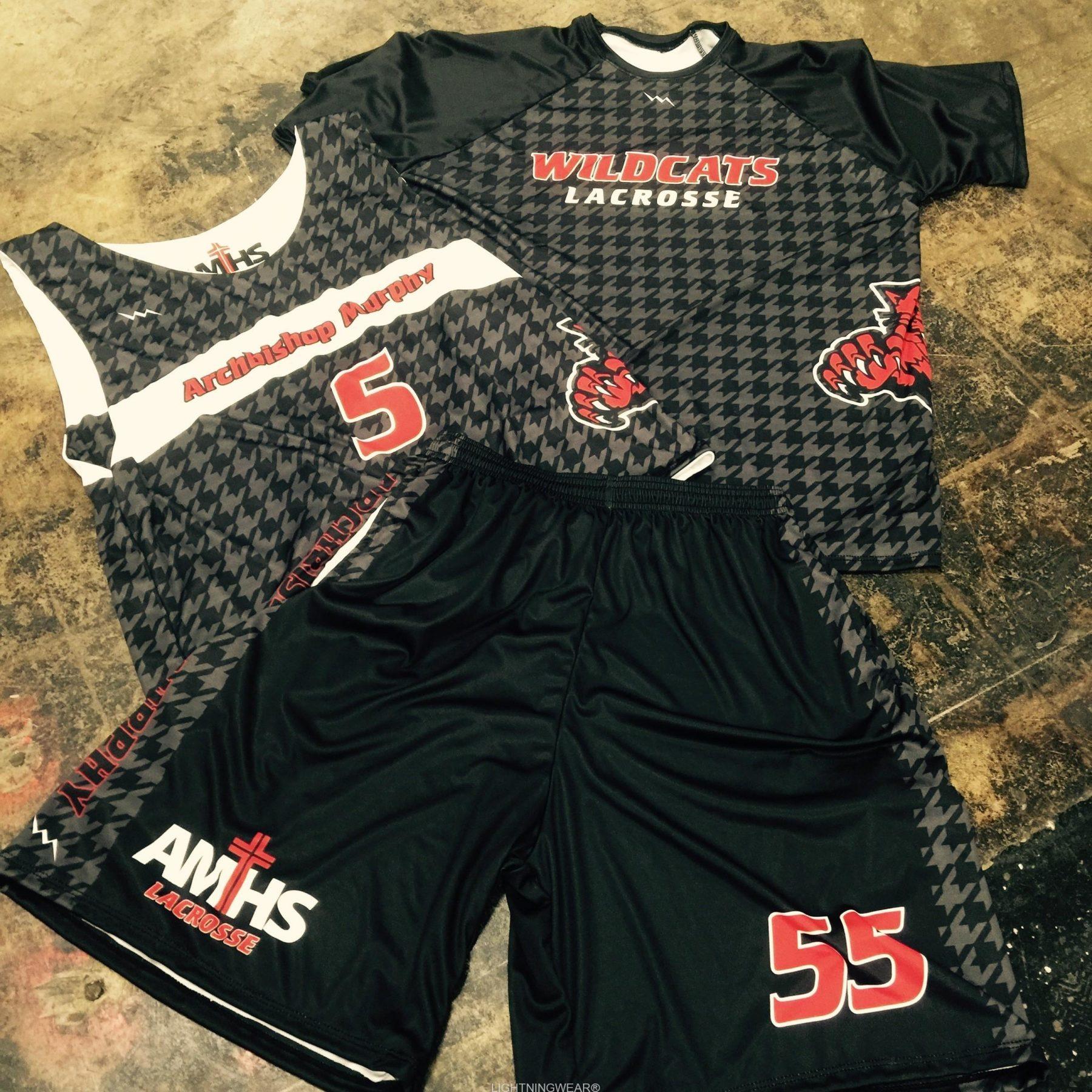 3 piece lacrosse uniforms