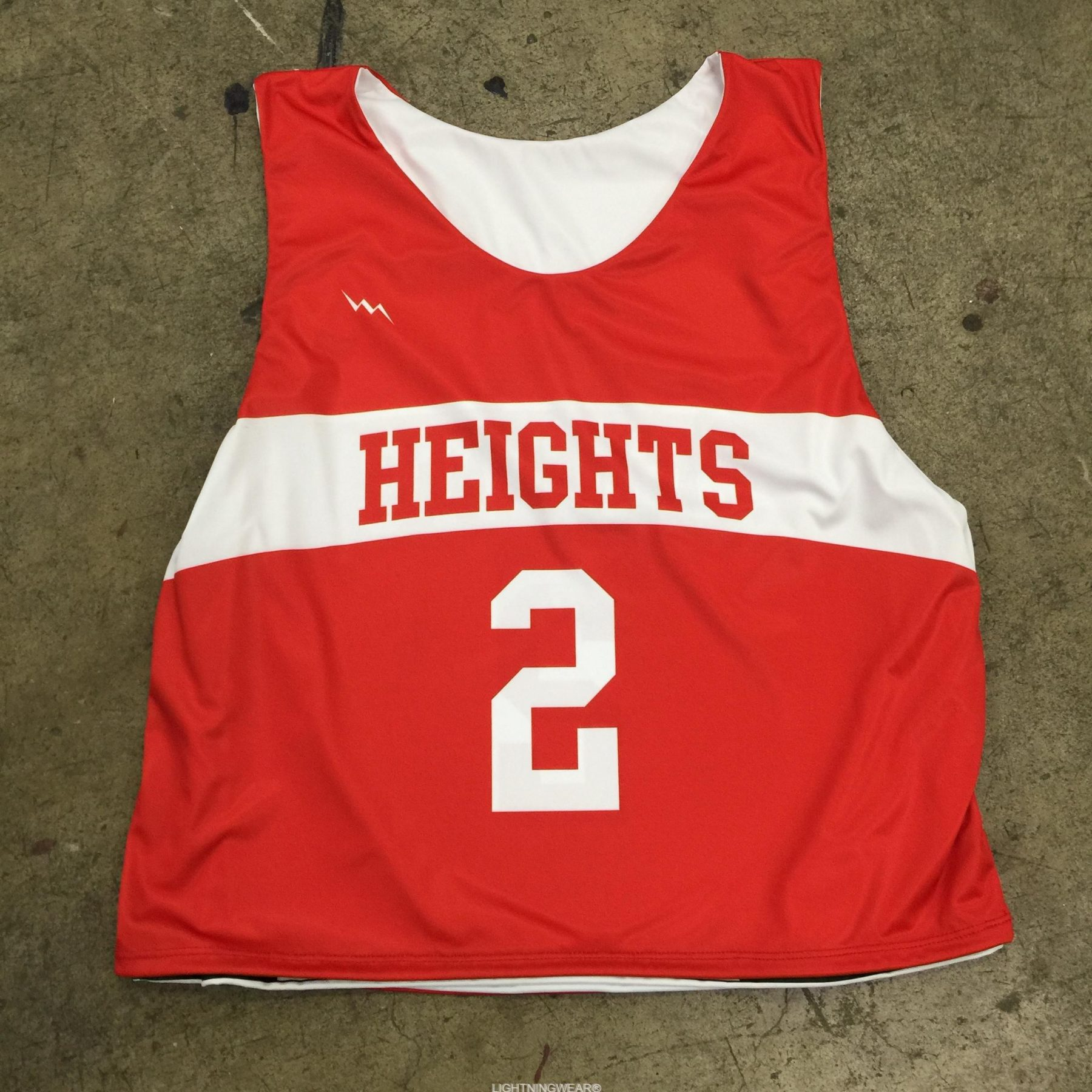 sublimated lacrosse reversible jerseys