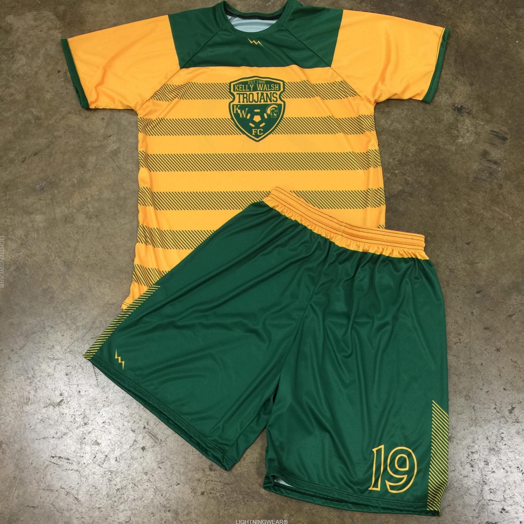 sublimated soccer uniforms