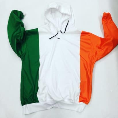 irish flag sweatshirts