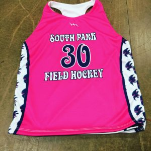 kids field hockey pinnies