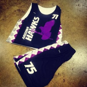 lacrosse league uniforms