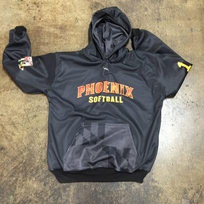 sublimated softball sweatshirts