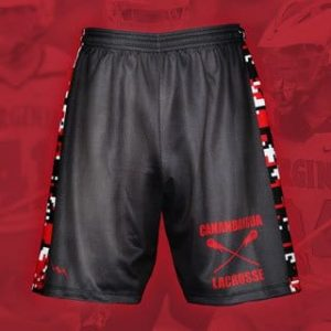 Cherry Red  Lacrosse Short