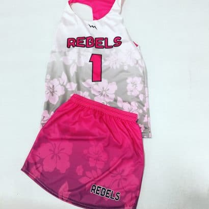 girls hawaiian lacrosse uniforms