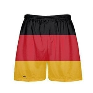 germany flag shorts