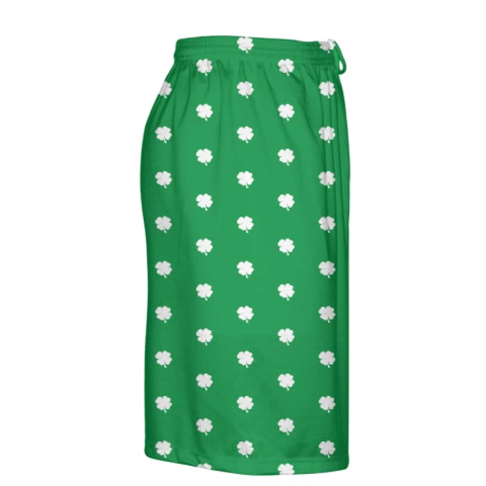 green shamrock shorts right