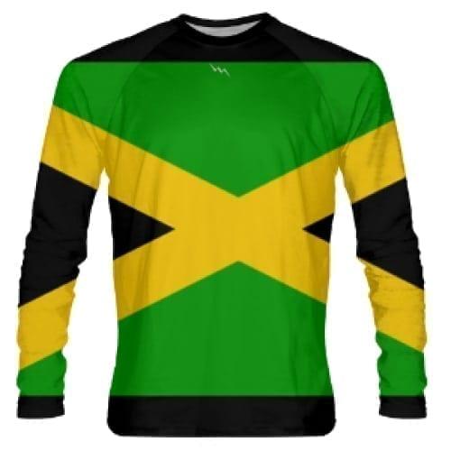 f782e2420 LightningWear Jamaica Flag Shirts - Long Sleeve Jamaica Shirt