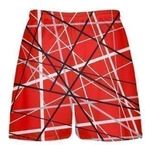 lines lacrosse shorts back