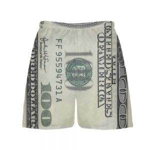money-shorts-back