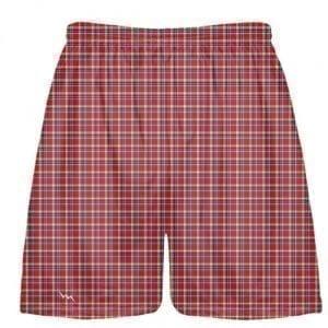 plaid lacrosse shorts