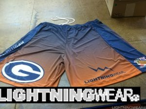 football sublimated shorts