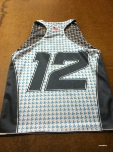 racerback sublimated pinnies