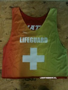Rasta Life Guard Pinnies