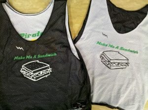 Make Sandwich Pinnies