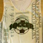 Dollar Bill Soccer Pinnies