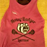 Honey Badger Girls Lacrosse Pinnies