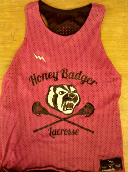 honey badgers pinnies