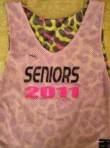 Seniors Lax Pinnies
