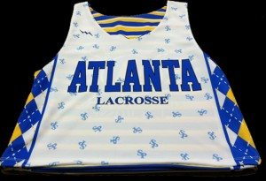sublimated lax pinnies