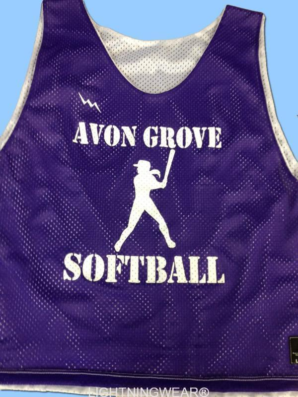 avon grove softball pinnies