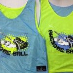 Awesome Ball Lacrosse Pinnies