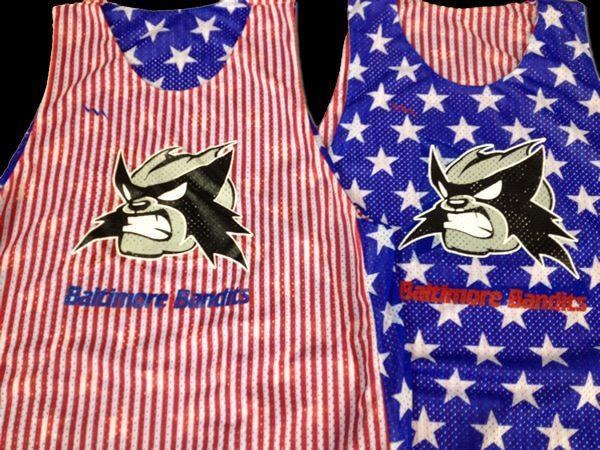 baltimore bandits pinnies