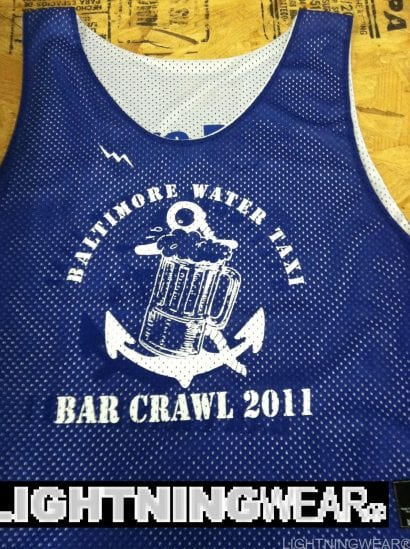 baltimore water taxi pinnies