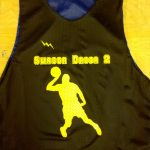 Black Basketball Reversible Jerseys